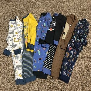 Carters boy 3t pajama sets